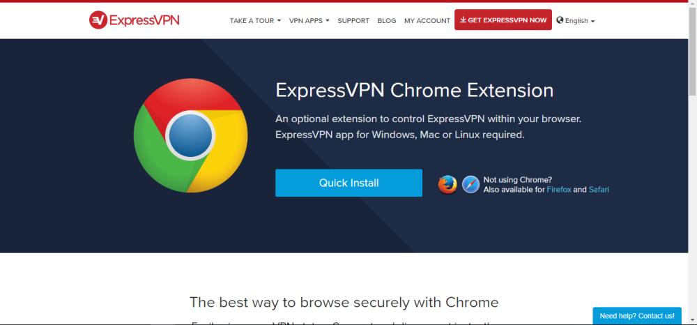 Установка VPN для Chrome