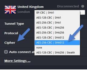 Шифрование TorGuard VPN