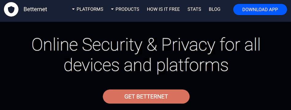 обман с бесплатным vpn Betternet
