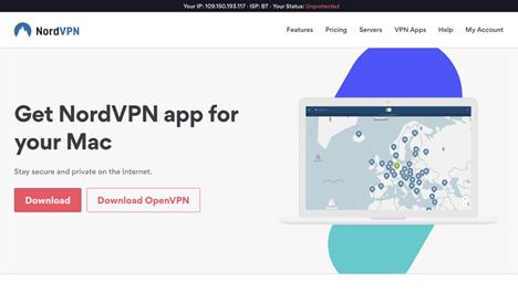 Страница скачивания vpn приложения