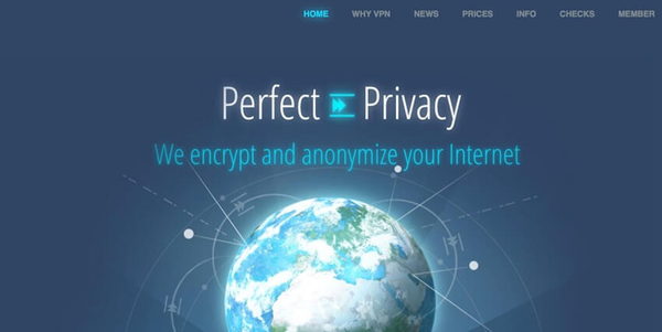 VPN-сервис Perfect Privacy для Торрента